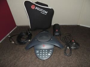 Polycom Sound Station 2 With Accessories
