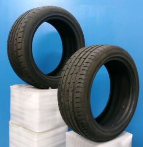 Two 2 17 Continental Conti Sportcontact 3 Tire 225 45r17 91w 8 32nd Dot11