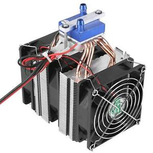 Water Circulation Thermoelectric Peltier Refrigeration Air Cooling System Cooler