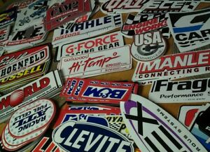 Lot 25 Racing Decals Stickers Dragster Nascar Decal Stock Car Chevy Hot Rod