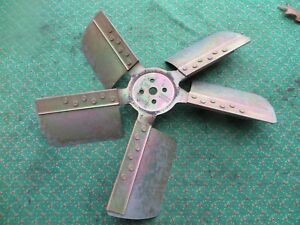 Ford Mustang Stripped Plated 5 Blade Fan 1965 1966 V8 1967 Cougar Galaxy Fairane