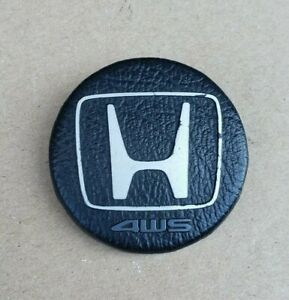 1990 1991 Honda Prelude Steering Wheel Horn Pad Emblem 4ws Four Wheel Steering