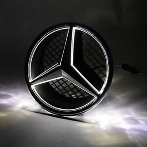 Illuminated Led Light Front Grille Star Emblem Badge For 06 13 Mercedes Benz Us