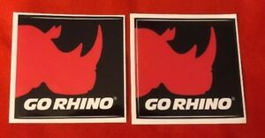2 Go Rhino Off Road Stickers Decals 4x4 Free Shipping Offroad Jeep Utv Koh