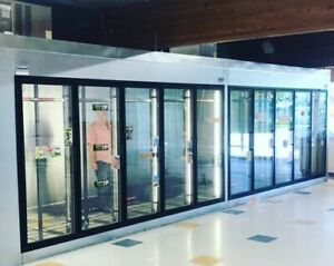 Glass Door Walk In Freezers Coolers Custom Sizes Available Call For Quote