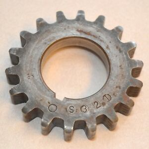 Ford 18 Tooth Crankshaft Sprocket Big Block Fe Engine Crank Teeth 352 390 427