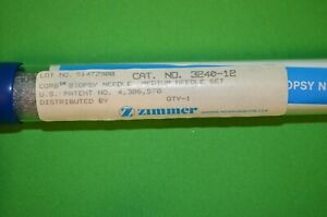 Zimmer Corb Biopsy Large Needle 3240 13 A Condition
