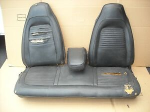 1970 Plymouth Cuda Front Bench Seat W Tracks Arm Rest