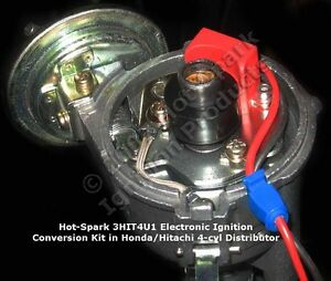 Electronic Ignition Conversion Kit For 4 Cylinder 1969 76 Subaru Dl Gl 3hit4u1
