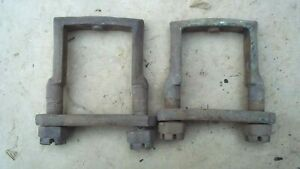 1909 1927 Model T Ford Rear Spring Clamps Original Pair Roadster Touring Coupe