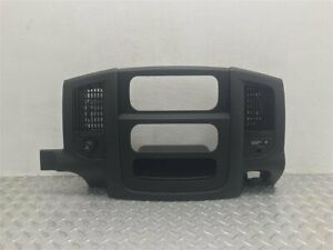 2003 Dodge Ram 1500 Center Dash Bezel Oem 5gv52trmab