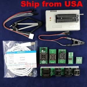 Xgecu Tl866ii Plus Programmer For Flash Nand Eeprom 9adapters clip Ship From Us
