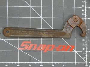 Snap On Tools Adjustable Hook Spanner Wrench 1 1 4 2425 7 Long Usa