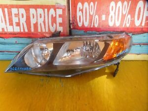 2006 2007 2008 2009 2010 2011 Honda Civic Sedan Left Side Headlight Oem