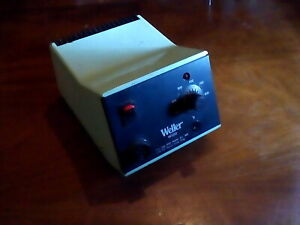 Weller Ws80 Soldering Station 80w 120v Case In Poor Cond 100 Working No Iron
