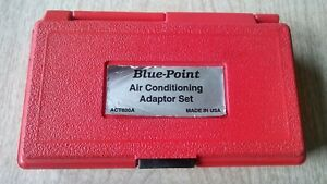 Blue Point Act600a Air Conditioning Adapter Set Usa Snap On