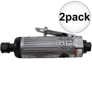 Astro Pneumatic T210 1 4 Pneumatic Air Die Grinder W Safety Lever 2x New
