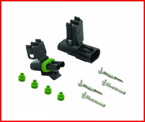 Accel Dfi 74812 Weatherproof Electrical 2 Pin Connector