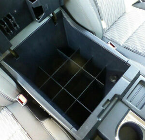 Center Console Armrest Organizer For 14 18 Toyota Tundra Insert Tray Divider