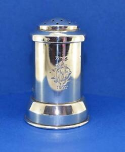 Antique Sterling Silver Xmas 1897 Pepper Mill Goldsmiths Silversmiths Co Wg Jl