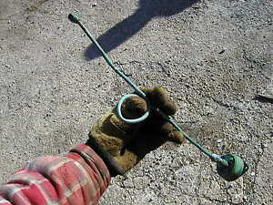Hart Parr rowcrop Tractor original oil line from engine to guage