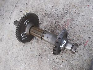 Massey Harris 33 Mh Tractor Power Take Off Pto Belt Pulley Input Drive Gear