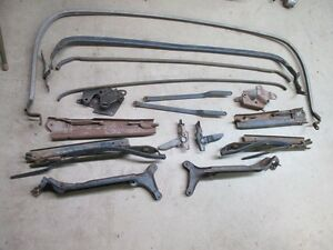 1969 Cadillac Convertible Top Frame Arms And Parts Oem