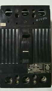 General Electric Circuit Breaker Tod 225 Amp 240 Volt 3 Pole