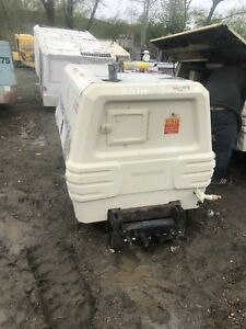 2009 Ingersoll Rand 185 Air Compressor Low Low Hours Runs Excellant Video