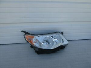 2009 2010 2011 2012 2013 Subaru Forester Right Passenger Oem Factory Headlight