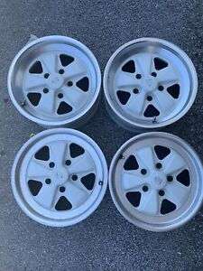 Oem Porsche Fuchs Factory Wheels 16x6 And 16x7 Original