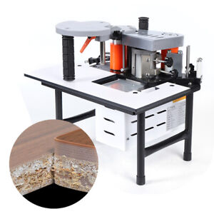 Portable Woodworking Edge Banding Machine Edge Bander 110v Usa Stock