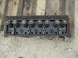 Ford 641 600 Tractor Gas Engine Motor Cylinder Head Valves