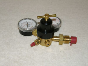 Miller Smith Gas Regulator Argon High Pressure 3000 Psi Regulator Stock No 16504
