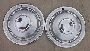 1960 Chrysler Hub Caps Wheel Covers Original