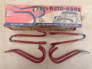 Nos Hollywood Cargo Tie Down Hooks Vintage Hudson Ford Dodge Chevy Gmc Ihc Truck