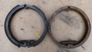 1909 1925 Model T Ford Rear Brake Bands Original Pair Small Drum Roadster