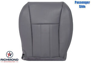 1997 1998 Jeep Cherokee Limited Passenger Side Bottom Leather Seat Cover Gray