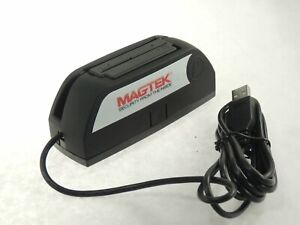 Magtek Dynamax Mini Msr Usb Bluetooth Credit Card Swipe Reader 21073154 Tested