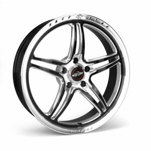 Race Star Rsf 1 Forged 1pc Polished Black 15x10 5x4 50bc 7 25bs Ford 01 510154mb