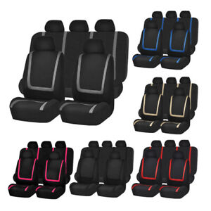 Auto Seat Covers For Car Sedan Truck Van Universal Seat Covers Universal 9 Color