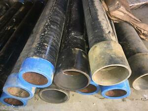 Casing 4 Od X 237 Wall Api Thread Couple 40 Inches Long Steel Water Well Dril