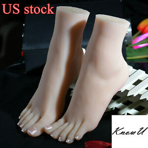 One Left Or Right Lifelike Silicone Feet With Bone Female Foot Model Display Us
