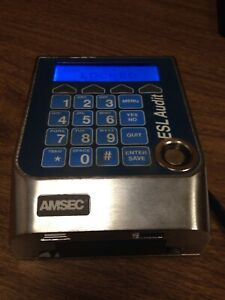 Amsec Esl Audit 1 Locking mounting Bracket Pops Off Have Administrative Code a2