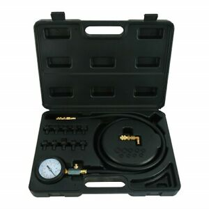 Engine Oil Pressure Test Set Tool Tester Car Garage Tool Low Oil Warning Devices