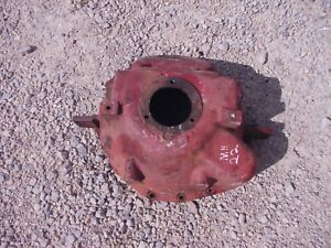 Massey Harris 22 Tractor Mh Engine Motor Rear Bell Housing Cover