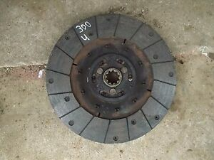 International 300 Utility Tractor Engine Motor Clutch Plate