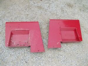 International 444 Utility U Tractor Original Ih Set Pair Of Fenders