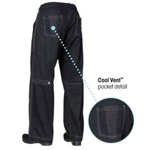 Chef Works Cool Vent Baggy Chef Pants Black All Sizes