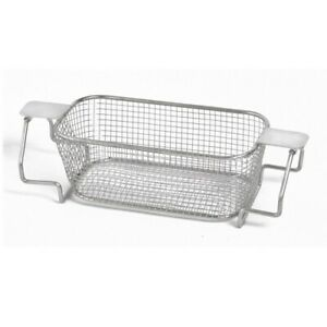 Crest Mesh Basket Stainless Steel W Handle For 230 Series Ultrasonic Cleaner